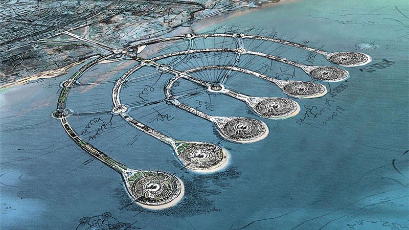The Menorah Islands