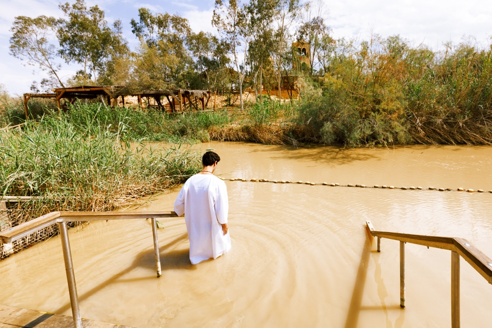 Islands Of Peace Jordan River Baptism